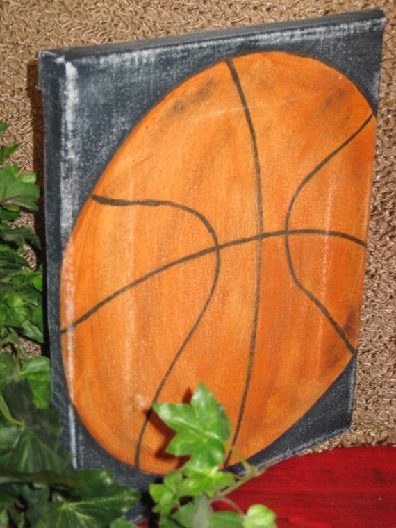 basket ball  sports canvas