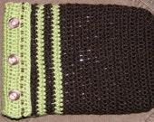 kindle nook ereader tablet cover crochet bag protective cover