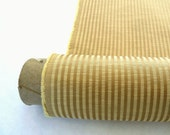 2-1/3 Yards, Free Ship,  Antique Gold Stripe (Jacquard) Home Decor Fabric (56 inch)