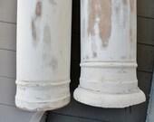 Architectural Columns Exterior - Antique 19th Century (Set of 2)