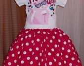 PATRIOTIC  Tee Shirt Dress  4th of July   Size 4-5 Memorial Day