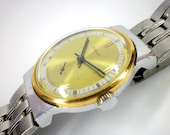 Vintage Pobeda mechanical watch from Soviet/Ussr