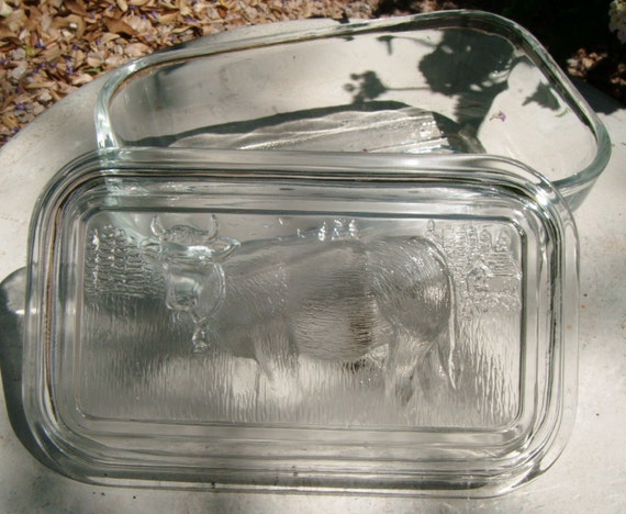 Vintage Refrigerator Dish