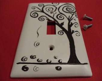 Tree of Life light switch plate cover FREE SHIPPING
