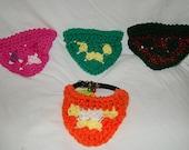 Pet Collar with 4 piece slides or bandanas
