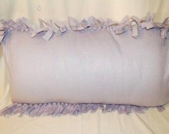 Fleece Lavender Pillowcase