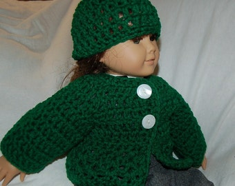 Doll sweater set