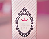 DIY Printable Juice Box Wraps - Princess Party