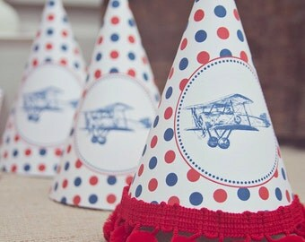 Printable Airplane Party Hat