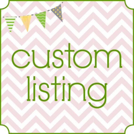 Custom Listing for Shannon Lineberry