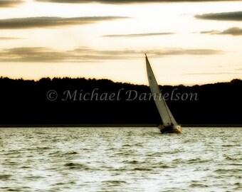 Photograph Print Sailing Fine Art 8x10