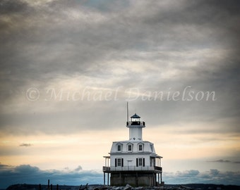 Photograph Fine Art Lighthouse Bug Light Photo Print