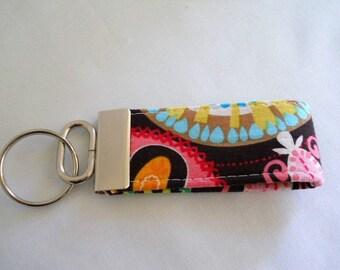 FREE SHIPPING ---- MINI Key Fob ---- Carnival Bloom