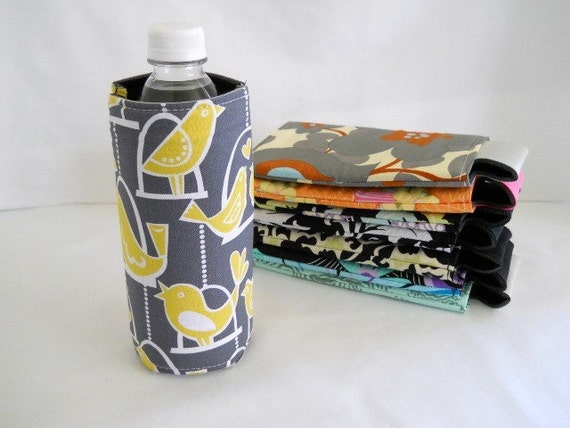 FREE SHIPPING ---- Bottle Sleeve/Koozie --- Neoprene --- Monogram it for Gift