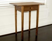 Shaker Side Table - With hand fit drawer