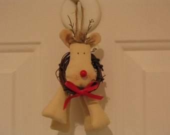 Jingly Rudolph ornament