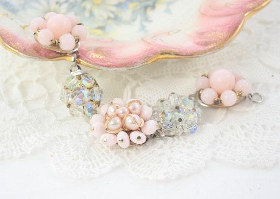 Vintage jewelry recycled Sugarplum Free shipping