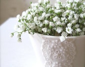 White Porcelain Lace Cup-Hideminy Lace Series