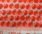 "Apples - choose 3 fat quarter from 3 colors - clearance - cotton, Check out with code ""sale15"" to save 15% off"