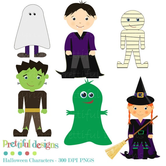 40% Off SALE Halloween Clip Art for Scrapbooking, Invitations, Paper Goods, Card Making (146)