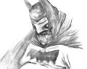 Batman - Matte Print