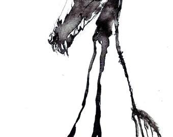 Doghead - Matte Print