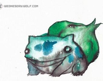 Bulbasaur - Matte Print