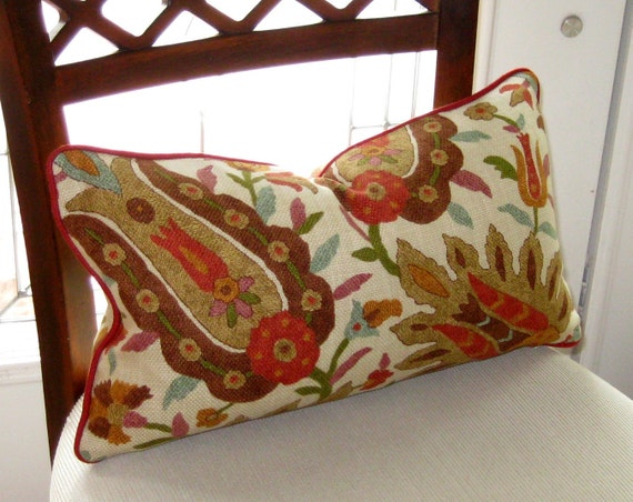 Richloom Jewel Prat lumbar pillow cover