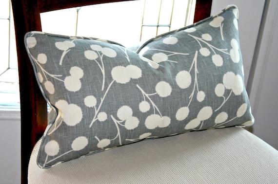 Designer Pillow Cover Kravet Thom Filicia Burnett Shadow