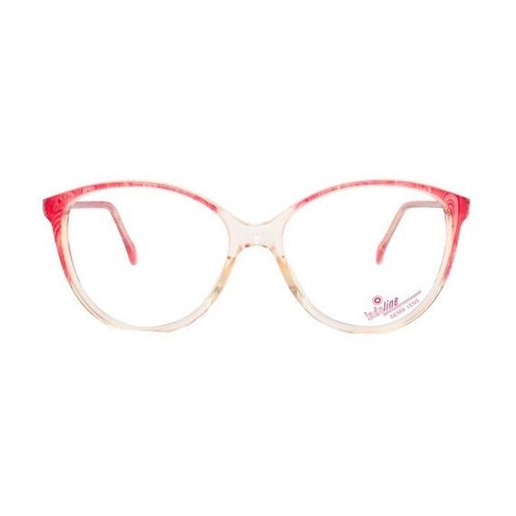 Glasses Frames Pink : transparent cateye eyeglasses vintage pink eye glasses