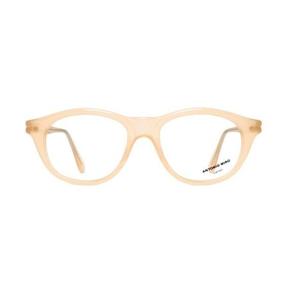 Salmon color Antonio Miro Vintage Eyeglasses - Maquillaje