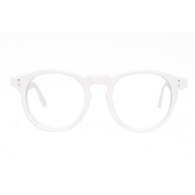 zoom - White Frame Eyeglasses