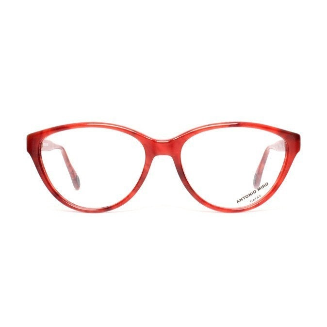 Vintage Eyeglass Frames Cat Eye : vintage cateye glasses raspberry red eyeglasses cat eye