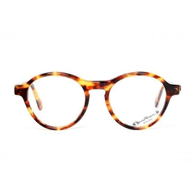 brown tortoise vintage eyeglasses dean glasses