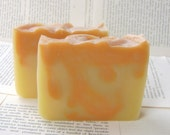 All Natural Citrus Soap with Grapefruit, Orange, and Blood Orange Essential Oils