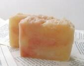 Caramel Hazelnut Shampoo, Handmade Solid Shampoo Bar with Shea and Jojoba