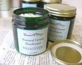Natural Cream Deodorant, Pick Your Scent