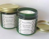 Jasmine Sandalwood Hand and Body Cream with Aloe