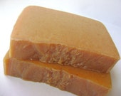 Pumpkin Soap, Handmade with Pumpkin Fruit bar soap