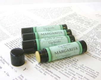Margarita Lip Balm, Lime Margarita Lip Balm with Shea and Cocoa Butter