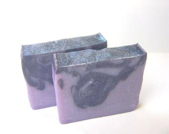 Cold Process Soap, Grape Goblin Handmade Soap, 5.5 ounces