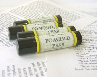 Poached Pear Lip Balm with Shea and Cocoa Butter