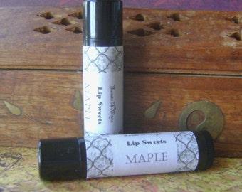 Maple Lip Balm, Shea and Cocoa Butter