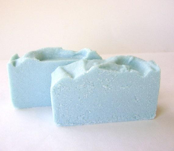 Surf and Sand Cold Process Soap, Sea Salt Spa Bar soap