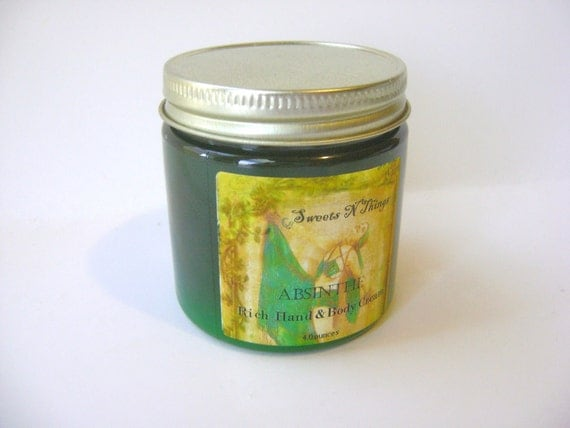 Absinthe Hand and Body Cream with Aloe and Cocoa Butter