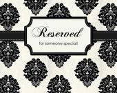 Reserved for Beth....Vintage Oval Chalkboard, Syroco Frame, Roses
