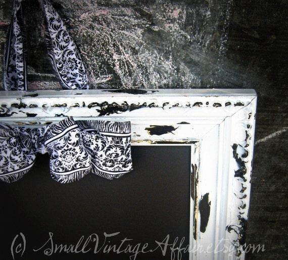 Wedding Chalkboard, Framed Chalkboard, Shabby Chic, Chalk Board, Black board, Menu Board