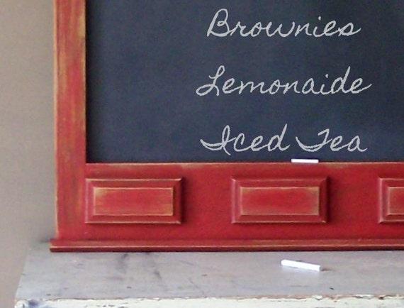 Barn Red Chalkboard, Summer Fun, Kitchen Chalkboard, Country Kitchen, Back to School