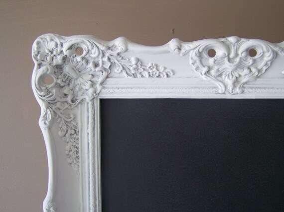 Vintage Wedding, Baroque Framed Chalkboard, Menu Board