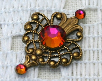 Affordable Passion Bindi in Oxidized Brass